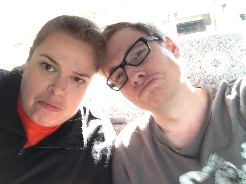 We are sad sad tourists.
