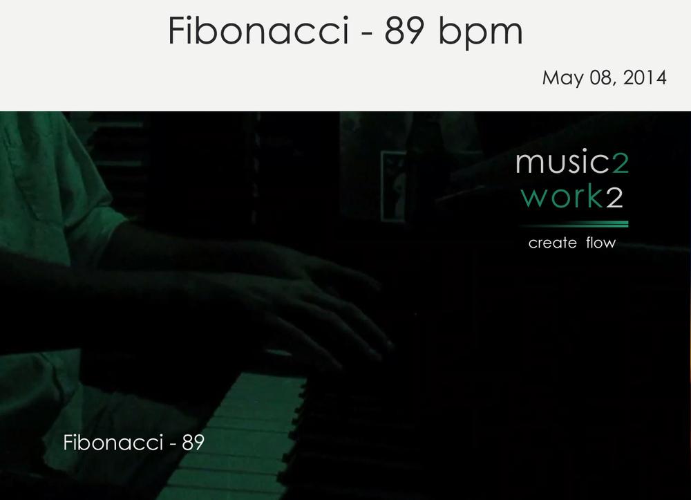 Fibonacci 89 bpm