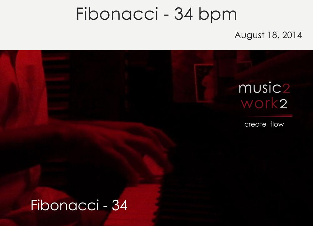 Fibonacci 34 beats per minute