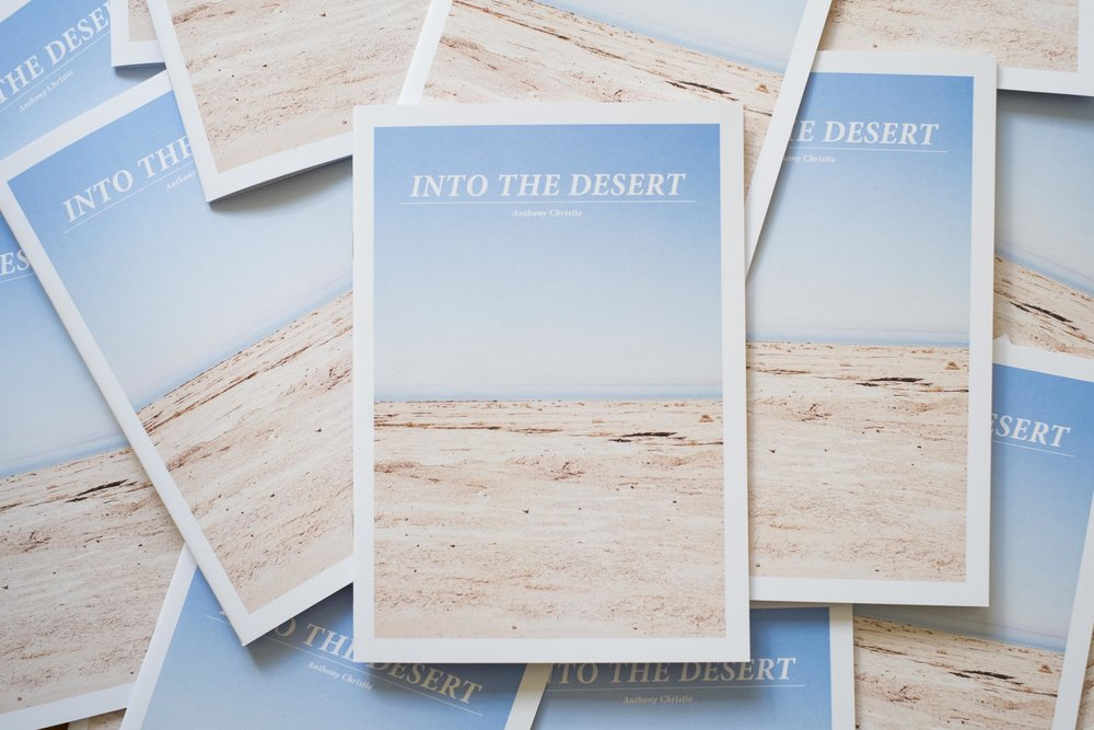 INTO THE DESERT   PHOTOgraphy BOOK