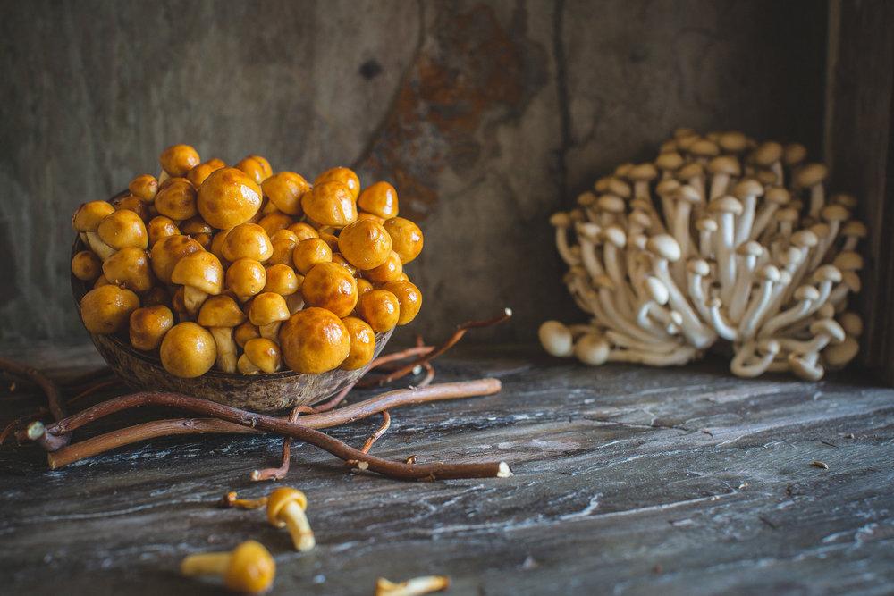 Japanese Mushroom © ParithaWannawanit