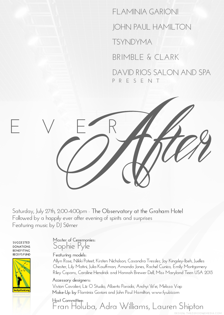 Ever After Fashion Show - July 27, 2013