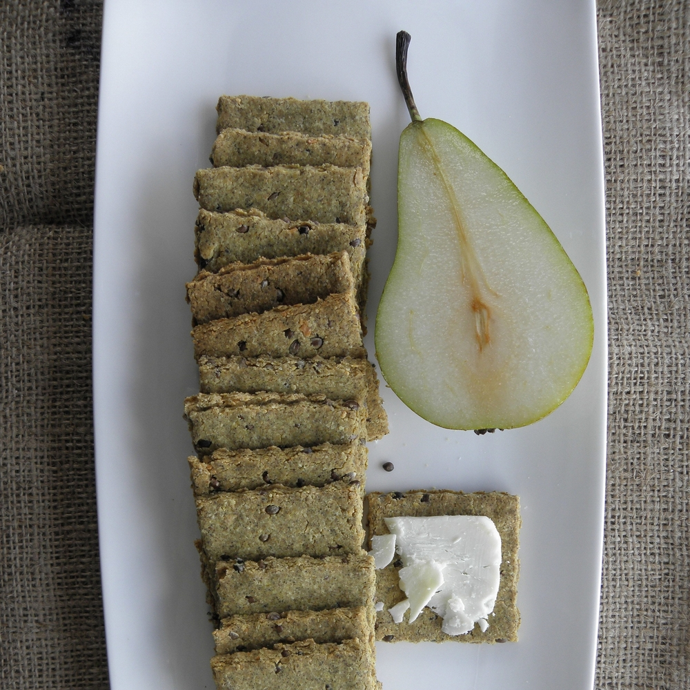 Yorkshire Fettle and hemp seed crackers