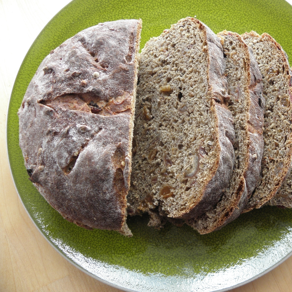 Yorkshire date and hemp loaf