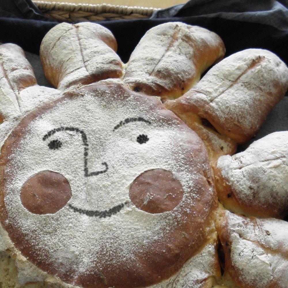 Picasso sun bread