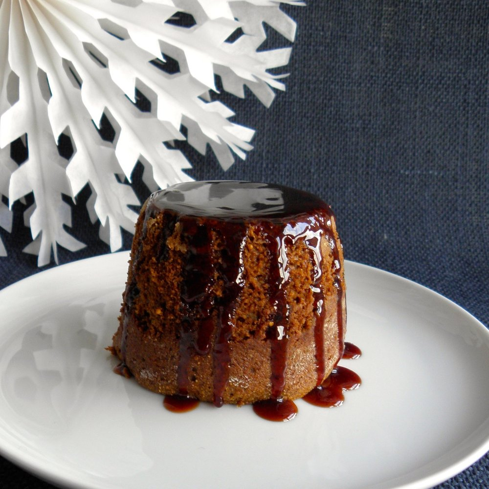 Sticky figgy puddings