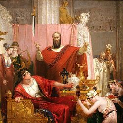 theSword of Damocles by Richard Westalls