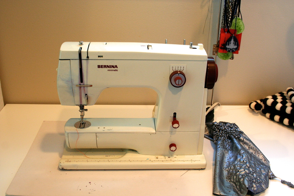 Bernina is my favored brand...old metal machines are the best! The machine I learned to sew on.