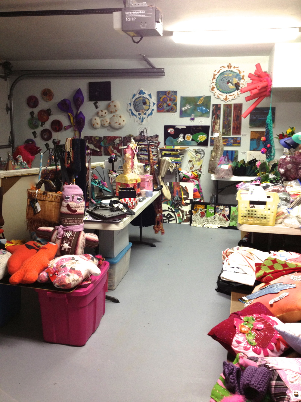 Crazy garage and art sale...everything going, going, going until it is GONE!