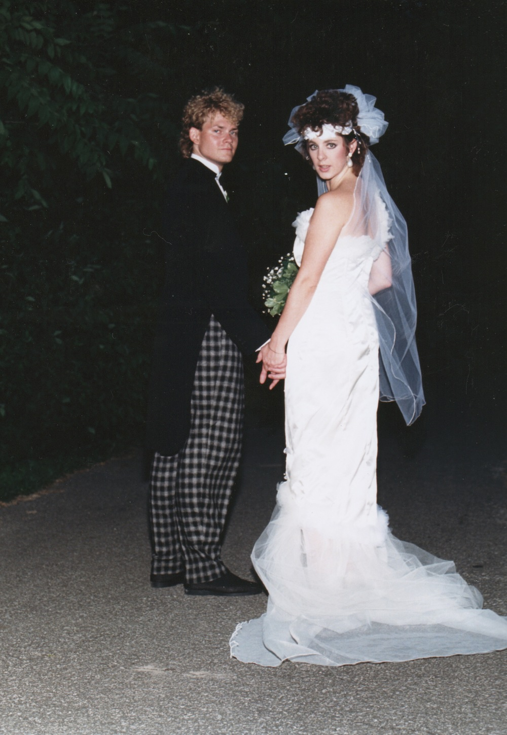 Wedding Day, July 5, 1986