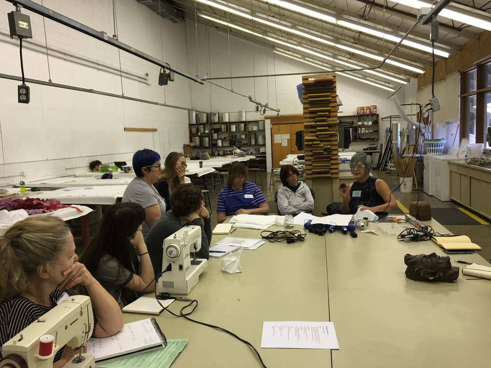 Arrowmont workshop