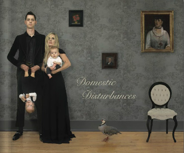 "[click on image to purchase]   ""DOMESTIC DISTURBANCE"" Three Person Exhibition Catalogue (2010) David Klein Gallery"