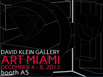 [click on image to view]   DAVID KLEIN GALLERY: ART MIAMI DECEMBER 4-8, 2013 Pictured: niagaragoldie, 40 x 30 inches niagararedchair, 36 x 34 inches niagaralounge, 60 x 48 inches