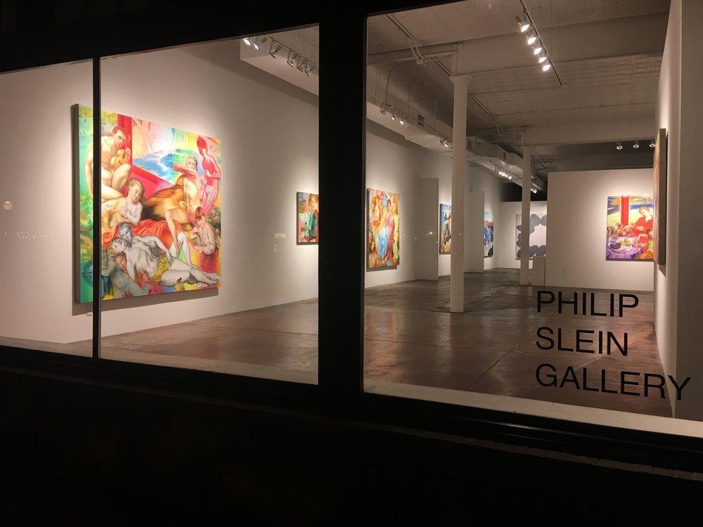 """""""Blondie Bubba"""" solo exhibition / 2018 / Philip Slein Gallery, St. Louis"""