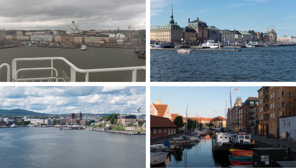 Helsinki Stockholm  Oslo and Copenhagen