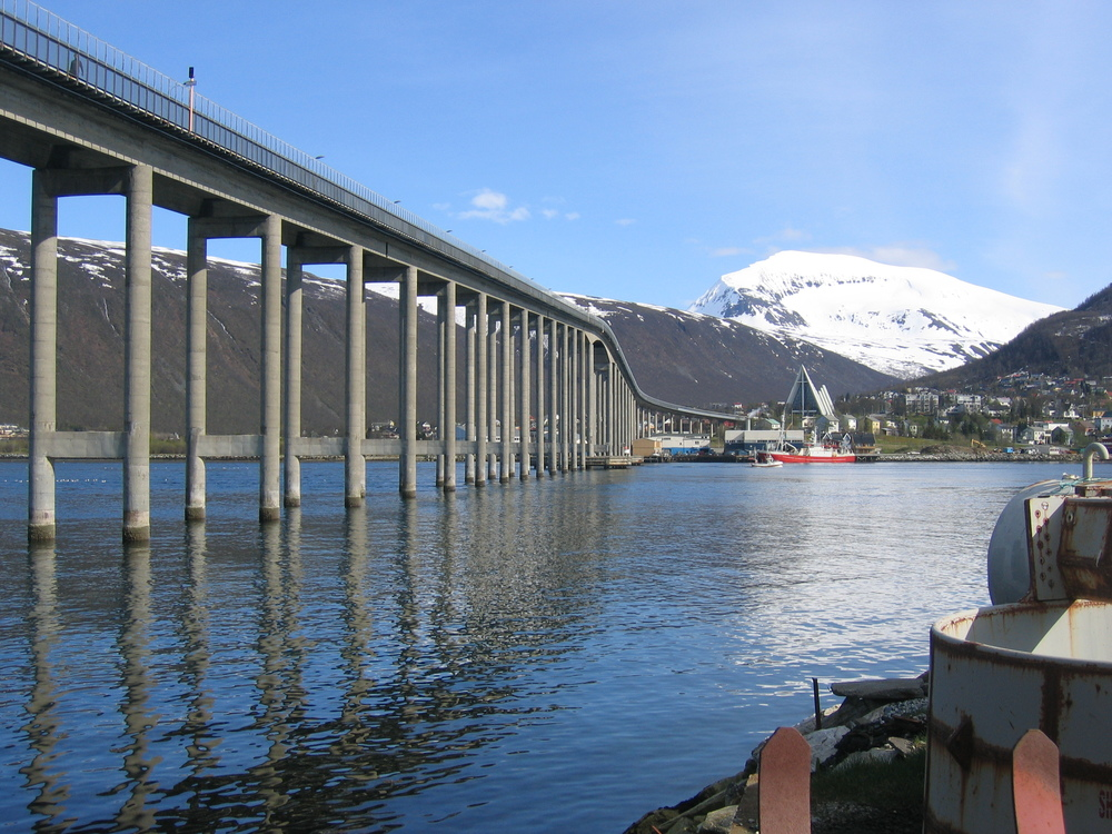 Tromsø Bridge (Copyright Wikipedia)