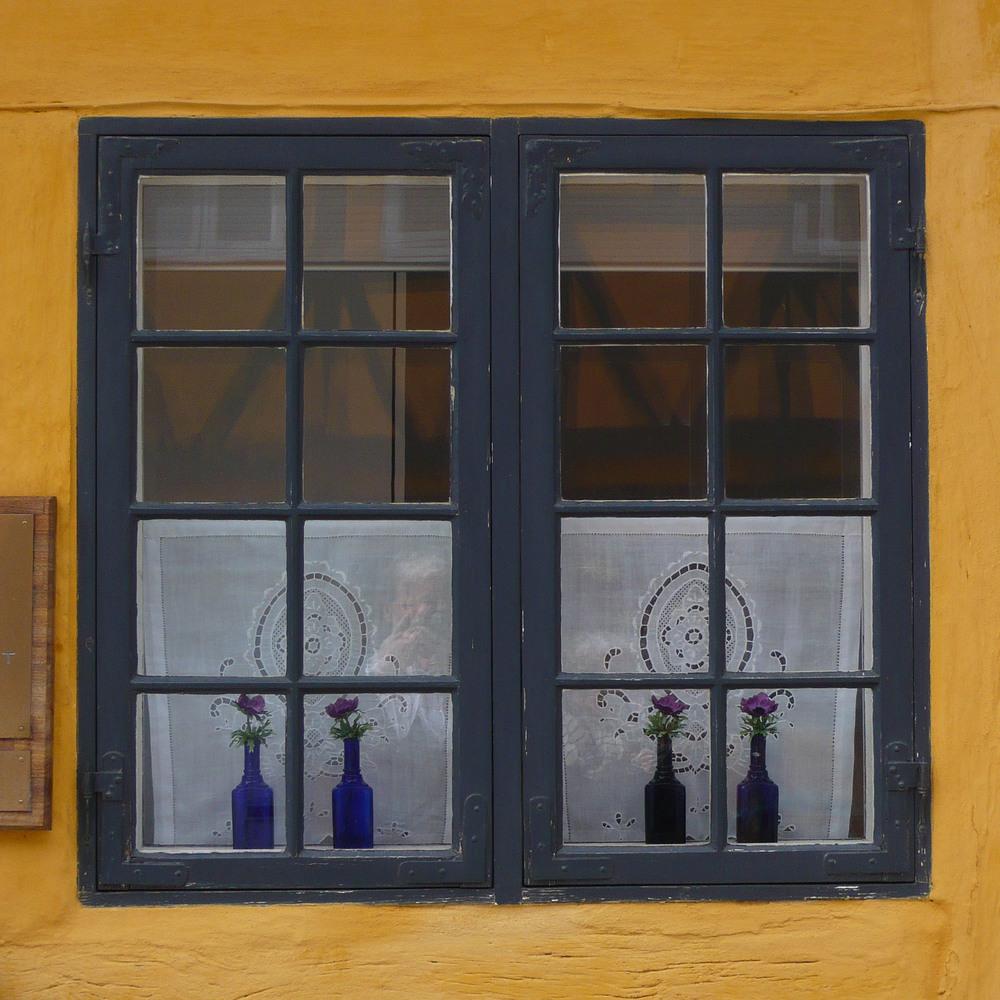 Detail of a window in Køge