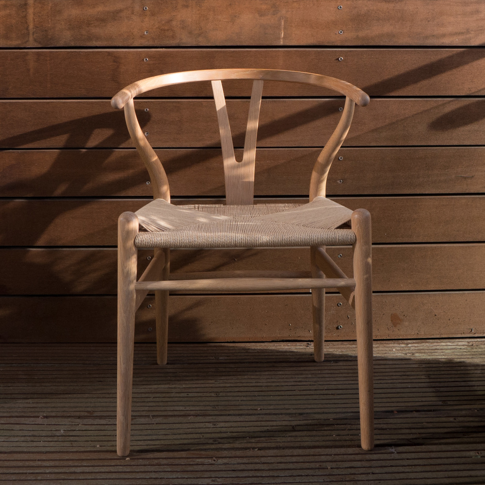 The Wishbone Chair designed by Hans Wegner in 1950 - the year before he was awarded the Lunning Prize
