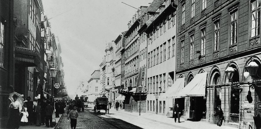 Bredgade in Copenhagen early in the 20th century