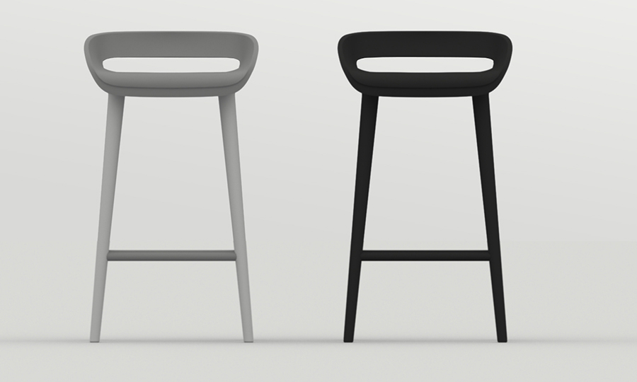 Stools for Fritz Hansen