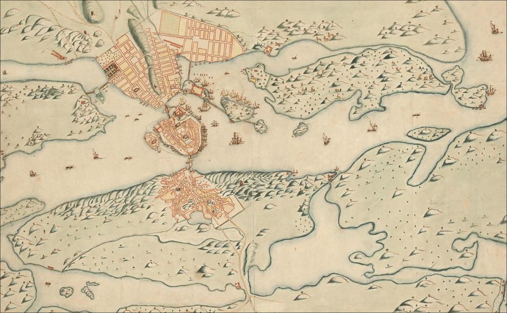 Stockholm in 1642