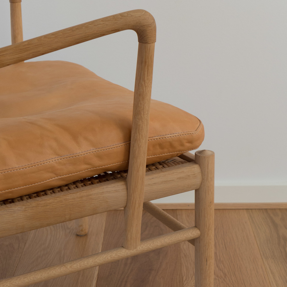 Wanscher Chair detail of arm.jpg