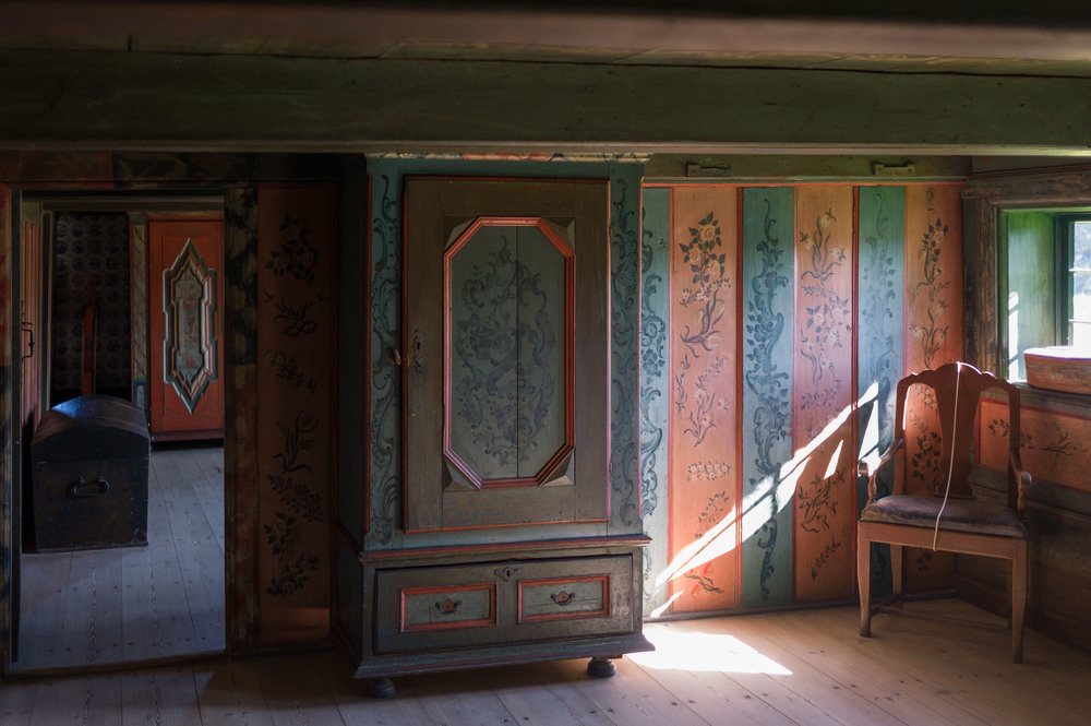 Interior Of A House From Romo On The North Sea Coast Now In Frilandsmuseet