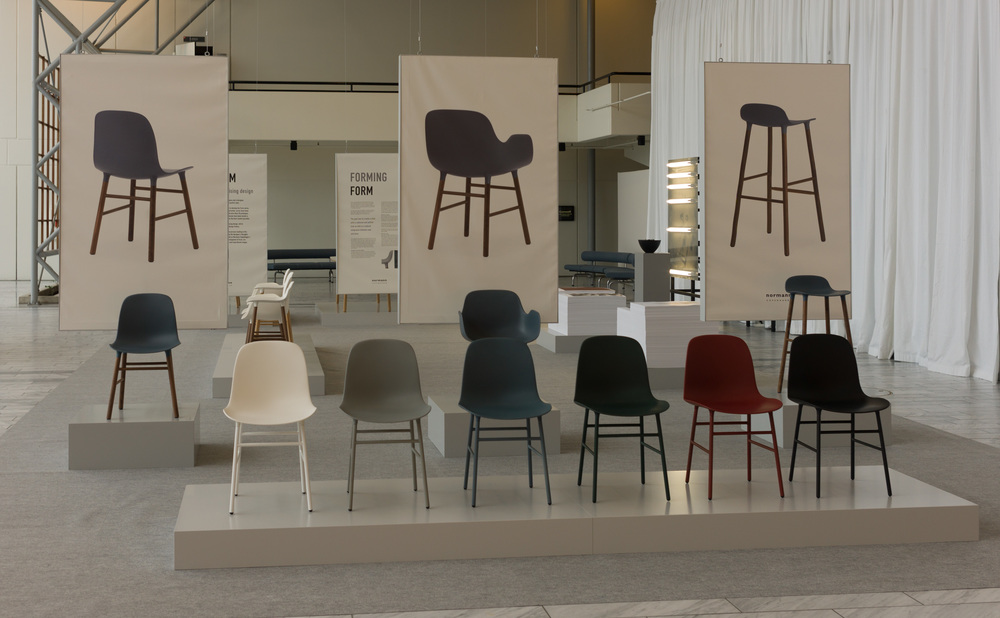 Normann Copenhagen Has Just Released The Full Form Range With Two Chairs    A Side Or Dining Chair And A Shell Chair With Raised Sides   And A Stool  With Two ...