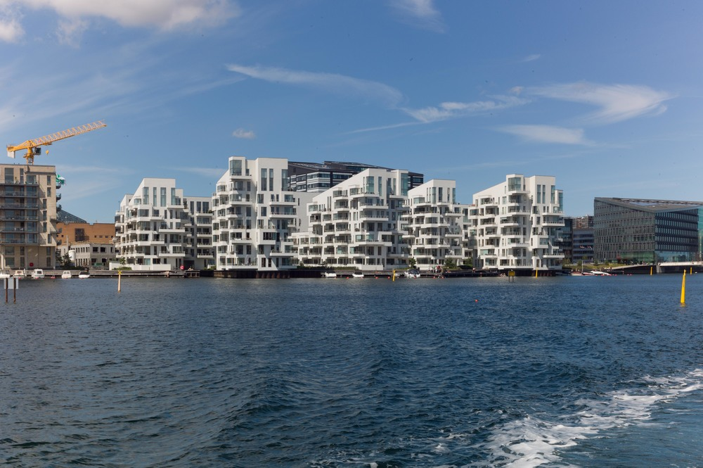 Havneholmen apartments, half way down the south part of the harbour on the west side. Architects Lundgaard and Tranberg and completed in 2008