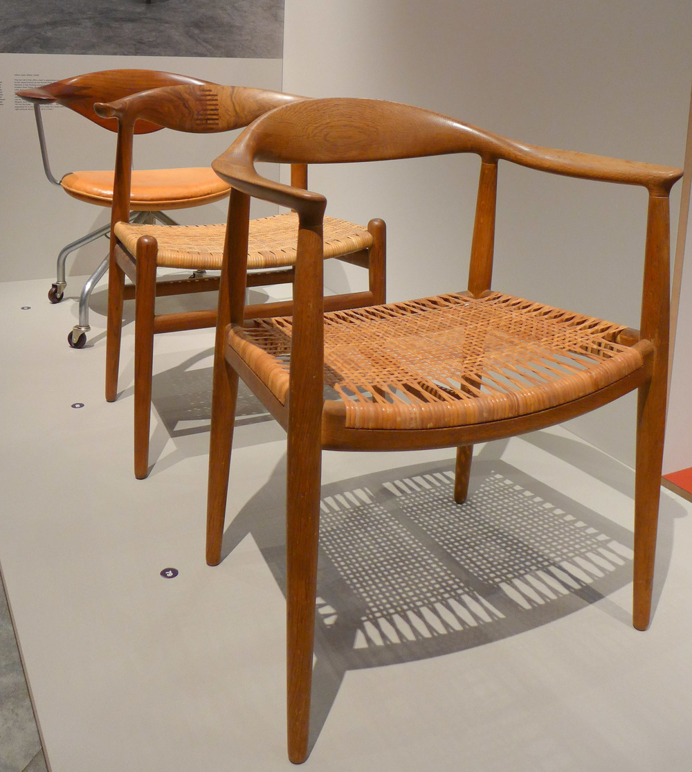 The chair round chair by hans wegner - Notes And Context Wegner Presented Three Chairs At The