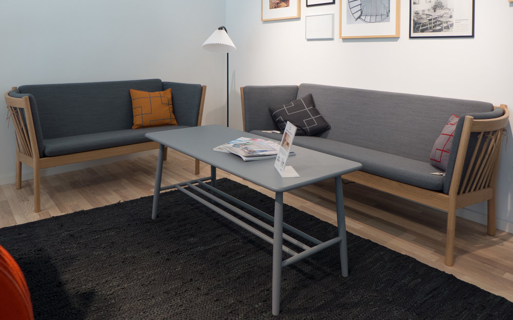 Utroligt the new FDB Møbler furniture store in Lyngby — danish design review IQ58