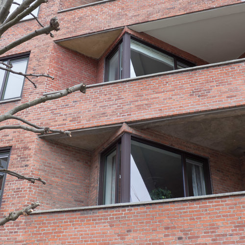 Functionalism - apartment buildings in Copenhagen in the 1930s ...