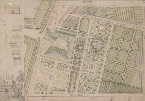 Gardens of Rosenborg in 1784.jpg