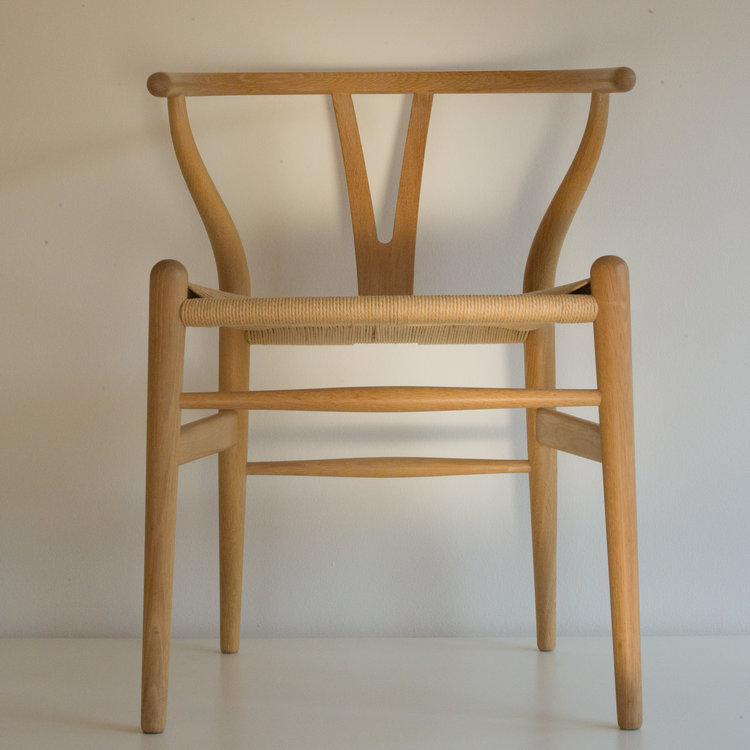ch24 the wishbone chair by hans wegner 1950 danish design review