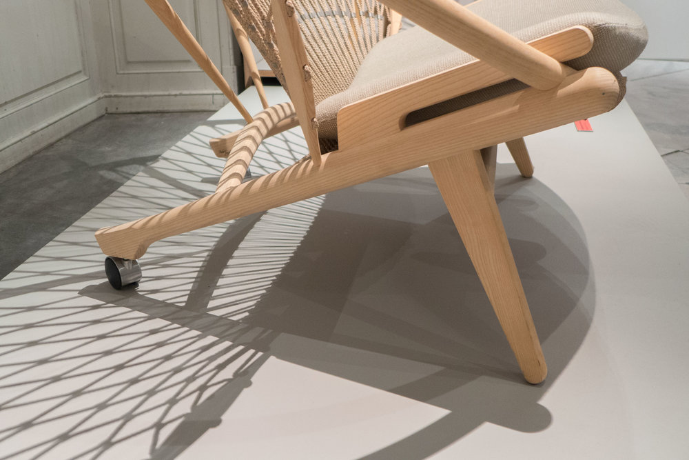 This chair is a testament to the imagination of Hans Wegner and to the technical skills of the cabinetmakers PP Møbler. & Cirkelstolen / The Circle Chair by Hans Wegner 1986 u2014 danish design ...