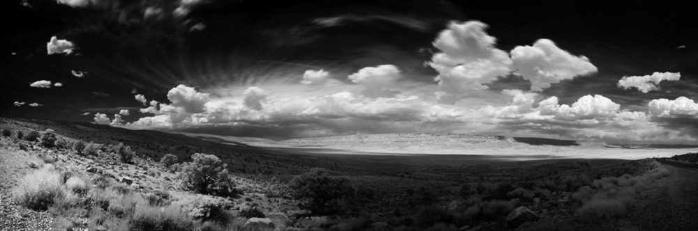 North of Los Alamos, NM, 180º
