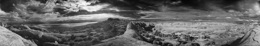 Devils Garden, Arches National Park, 360º