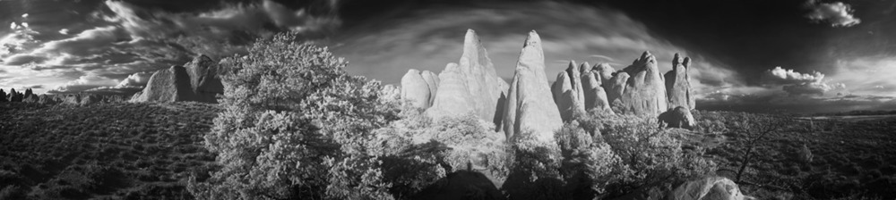 Devils Garden, Arches National Park, 240º