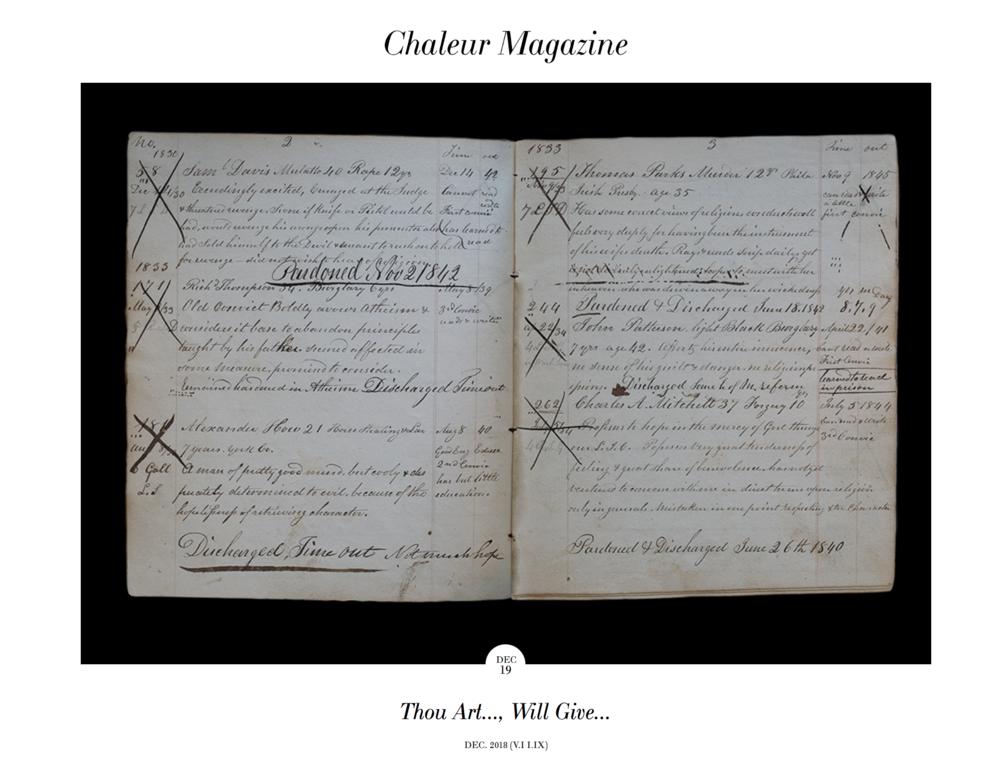 Chaleur Magazine