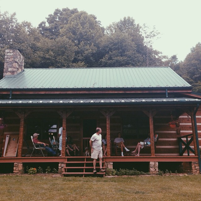 Back from a week with my entire extended family at my grandparents' cabin in Burnsville, North Carolina.  The older I get the more I realize how beautiful and rare my family is. #family #blueridgemountains #burnsville