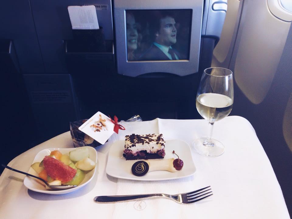 Dessert a la Lufthansa