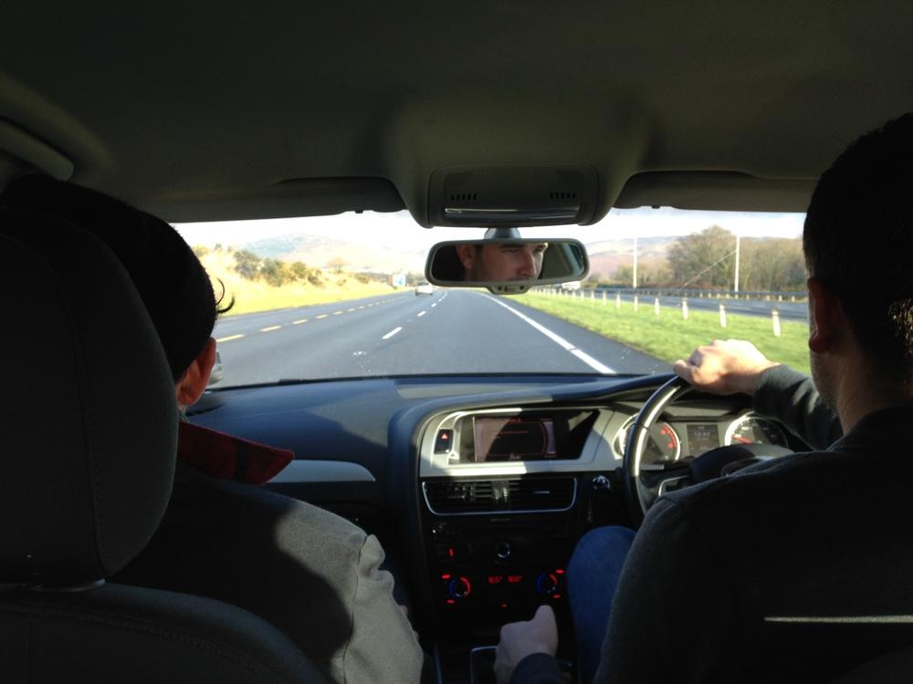irish driving