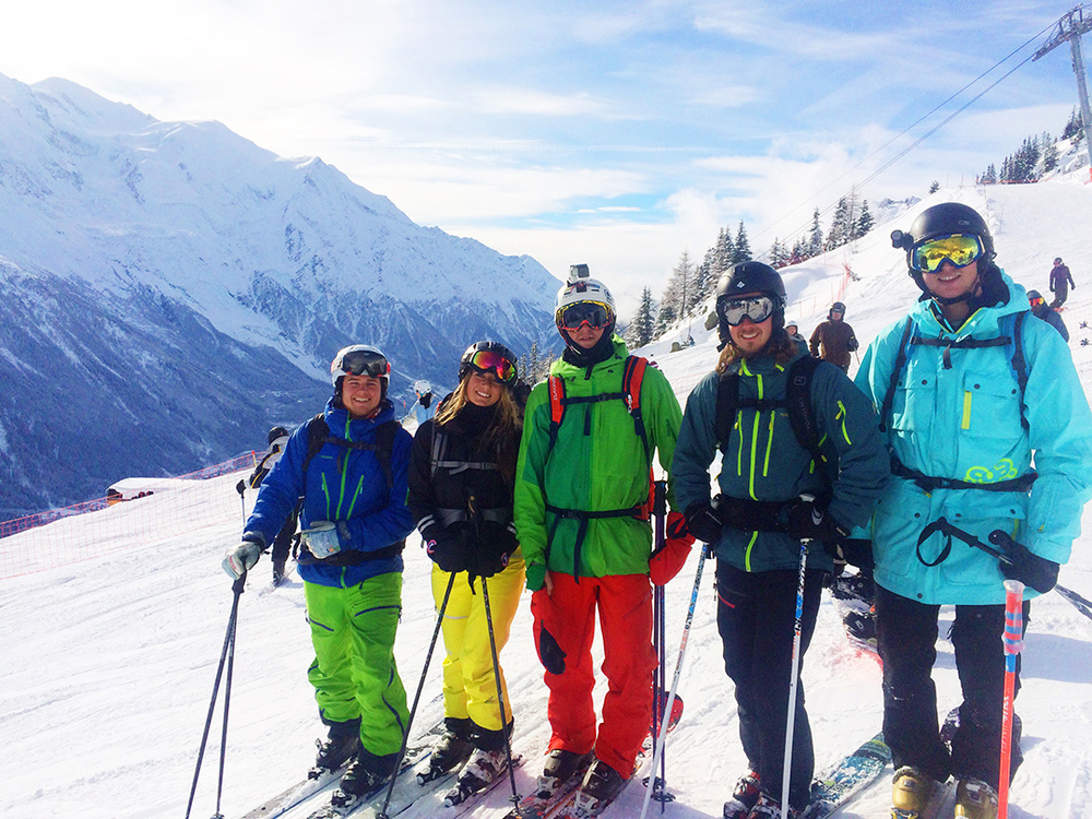 Swedish ski bums of Chamonix