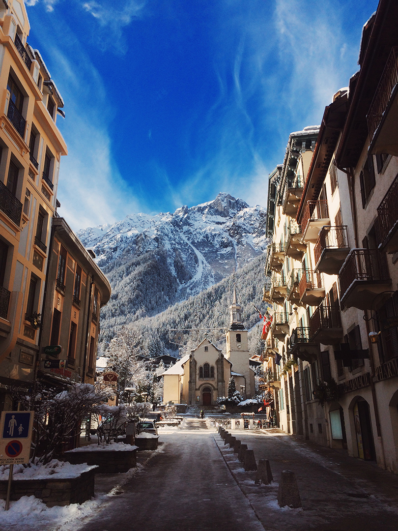 Downtown Chamonix