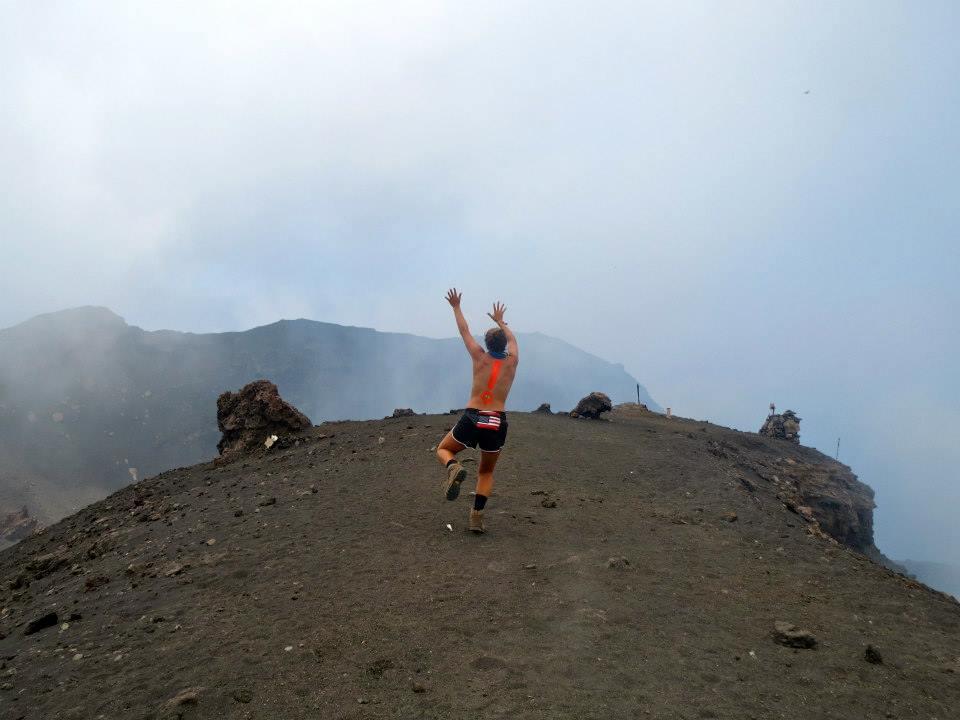 topless volcano hike