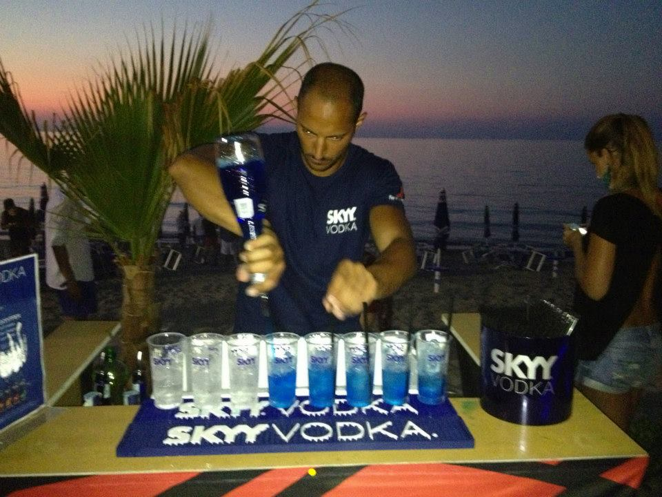sky vodka bar yacht week