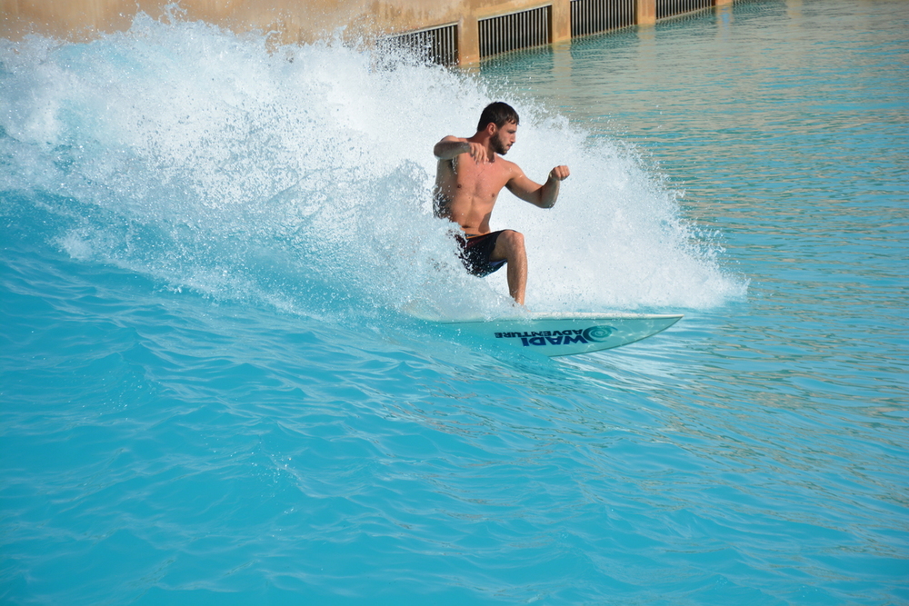 surfing wadi adventure