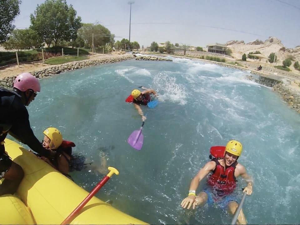 wadi adventure raft
