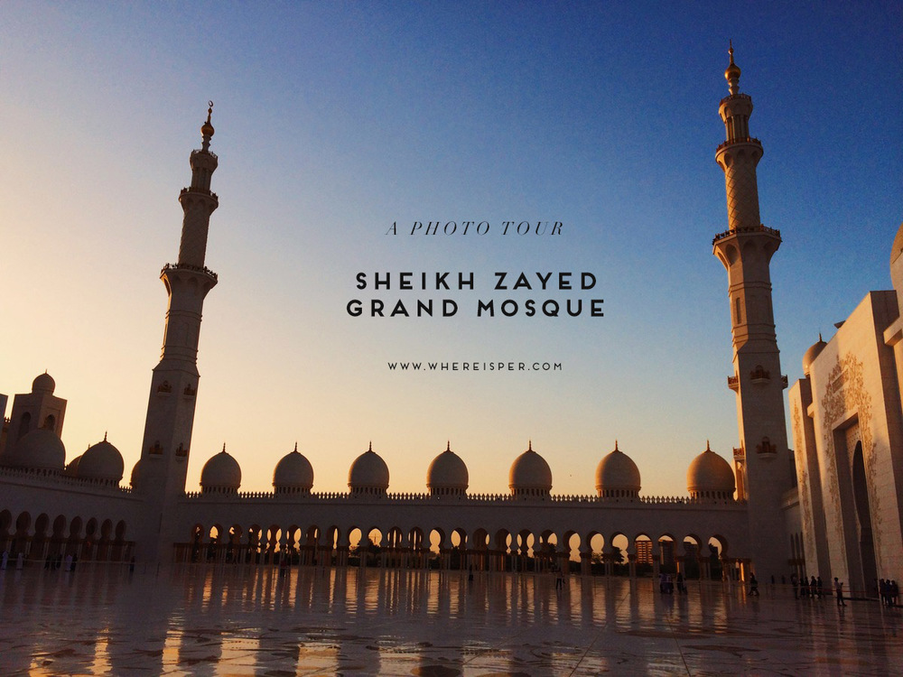 A Photo Tour Sheikh Zayed Mosque