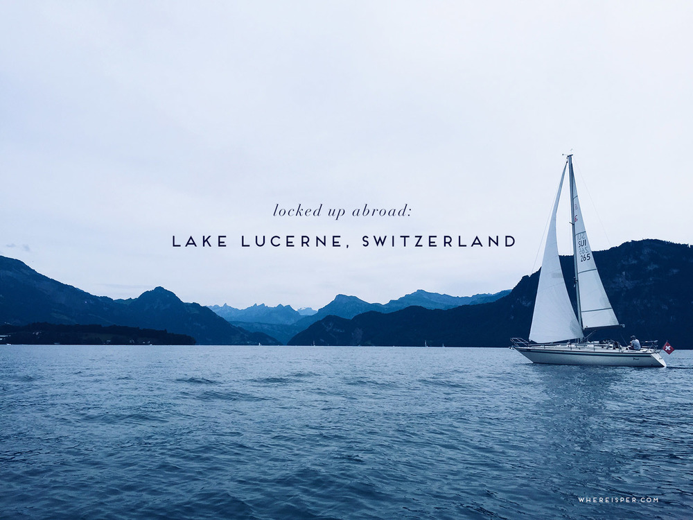 lake lucerne locked up abroad